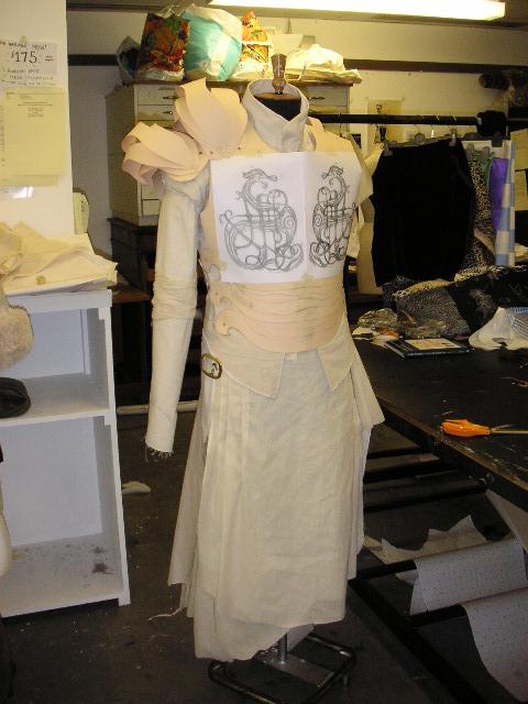 Costume in progress