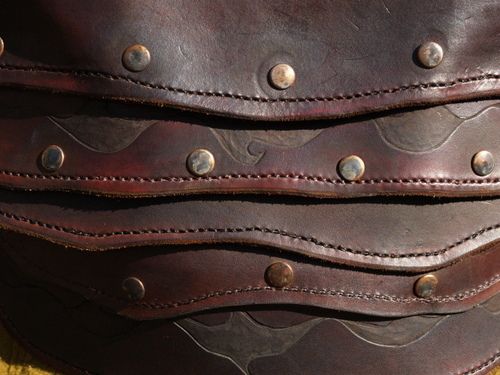 Detail of Leather Armour